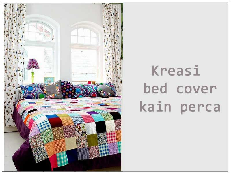 Kreasi-bed-cover-dari-kain-perca